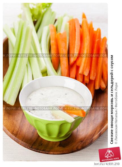 Соус к овощам свежим