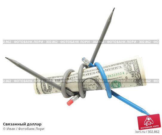Связанный доллар, фото № 302862, снято 23 января 2008 г. (c) Иван / Фотобанк Лори