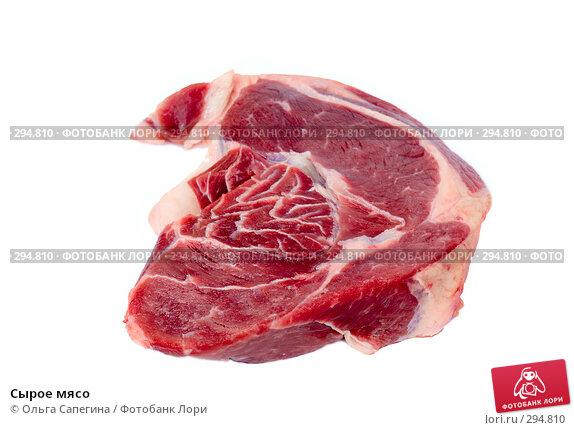 Сырое мясо, фото № 294810, снято 22 апреля 2008 г. (c) Ольга Сапегина / Фотобанк Лори