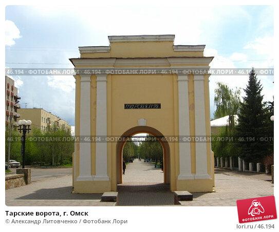 Тарские ворота, г. Омск, фото № 46194, снято 12 мая 2007 г. (c) Александр Литовченко / Фотобанк Лори