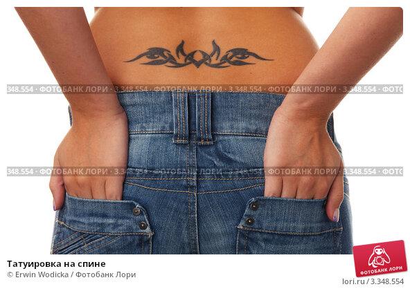 Купить «Татуировка на спине», фото № 3348554, снято 21 февраля 2019 г. (c) Erwin Wodicka / Фотобанк Лори