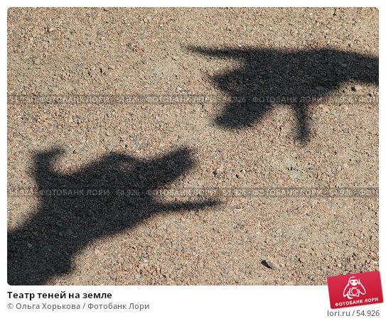 Театр теней на земле, фото № 54926, снято 16 июня 2007 г. (c) Ольга Хорькова / Фотобанк Лори
