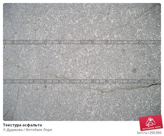 Купить «Текстура асфальта», фото № 250950, снято 10 апреля 2008 г. (c) Дудакова / Фотобанк Лори