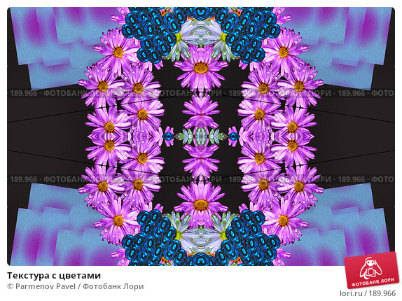 Текстура с цветами, фото № 189966, снято 21 декабря 2007 г. (c) Parmenov Pavel / Фотобанк Лори