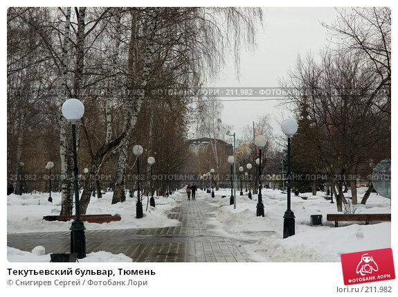 Текутьевский бульвар, Тюмень, фото № 211982, снято 1 марта 2008 г. (c) Снигирев Сергей / Фотобанк Лори