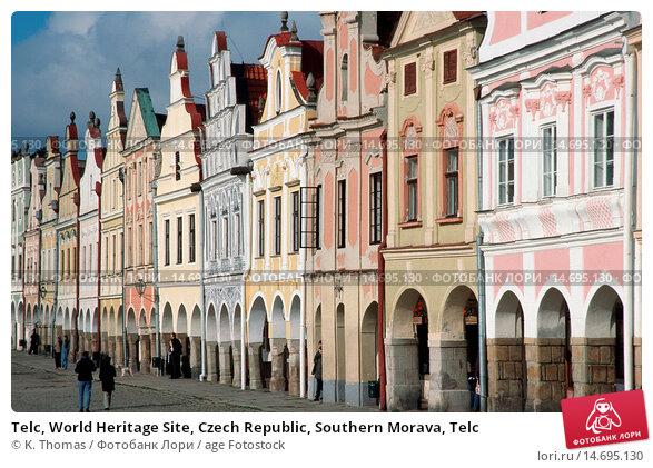 Купить «Telc, World Heritage Site, Czech Republic, Southern Morava, Telc», фото № 14695130, снято 21 марта 2019 г. (c) age Fotostock / Фотобанк Лори