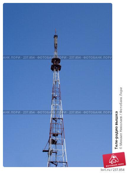 Теле-радио вышка, фото № 237854, снято 29 марта 2008 г. (c) Михаил Николаев / Фотобанк Лори