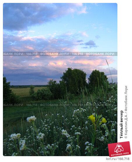Тёплый вечер, фото № 166718, снято 21 июня 2007 г. (c) Карелин Д.А. / Фотобанк Лори