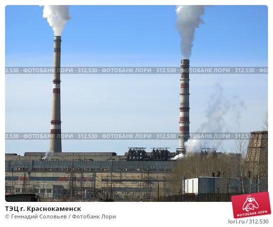 Купить «ТЭЦ г. Краснокаменск», фото № 312530, снято 15 февраля 2008 г. (c) Геннадий Соловьев / Фотобанк Лори