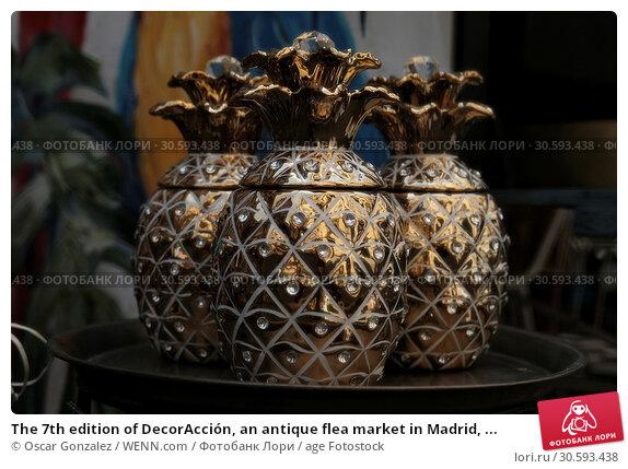 Купить «The 7th edition of DecorAcción, an antique flea market in Madrid, Spain Featuring: Atmosphere Where: Madrid, Spain When: 10 Jun 2017 Credit: Oscar Gonzalez/WENN.com», фото № 30593438, снято 10 июня 2017 г. (c) age Fotostock / Фотобанк Лори