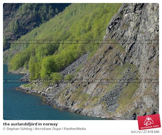 Купить «the aurlandsfjörd in norway», фото № 27818646, снято 16 октября 2018 г. (c) PantherMedia / Фотобанк Лори
