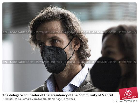 The delegate counselor of the Presidency of the Community of Madrid... Редакционное фото, фотограф Rafael De La Camara / age Fotostock / Фотобанк Лори