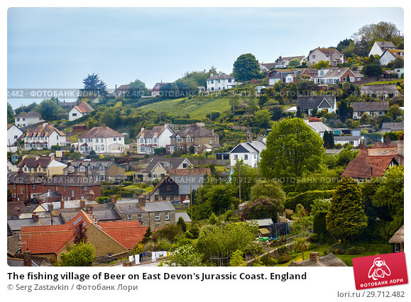 Купить «The fishing village of Beer on East Devon's Jurassic Coast. England», фото № 29712482, снято 12 мая 2009 г. (c) Serg Zastavkin / Фотобанк Лори