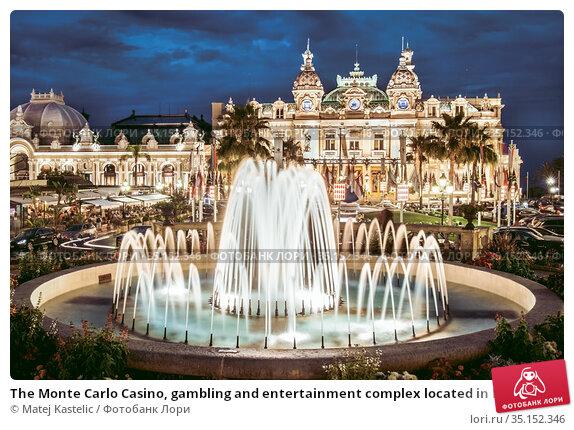 The Monte Carlo Casino, gambling and entertainment complex located in Monte Carlo, Monaco, Cote de Azul, France, Europe. Стоковое фото, фотограф Matej Kastelic / Фотобанк Лори