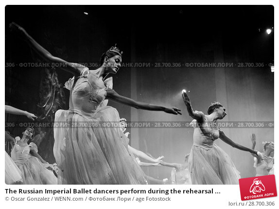 Купить «The Russian Imperial Ballet dancers perform during the rehearsal of 'El Cascanueces' at Lope de Vega Theatre in Madrid, Spain. Where: Madrid, Community...», фото № 28700306, снято 27 декабря 2016 г. (c) age Fotostock / Фотобанк Лори