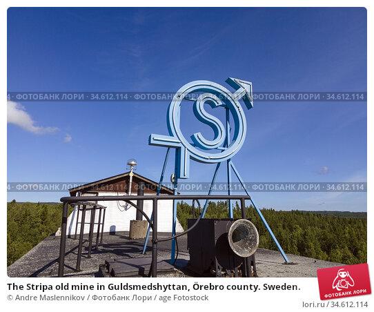 The Stripa old mine in Guldsmedshyttan, Örebro county. Sweden. Стоковое фото, фотограф Andre Maslennikov / age Fotostock / Фотобанк Лори