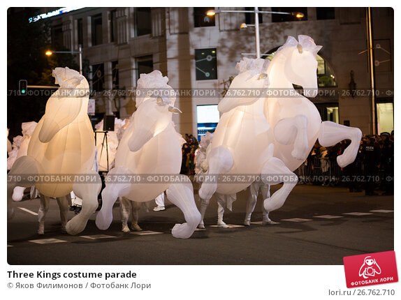 Three Kings costume parade, фото № 26762710, снято 5 января 2017 г. (c) Яков Филимонов / Фотобанк Лори