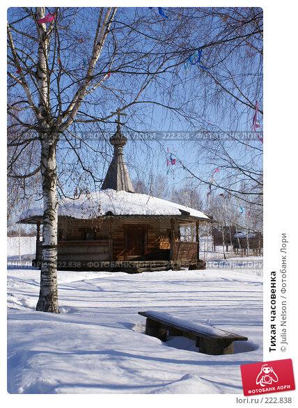 Купить «Тихая часовенка», фото № 222838, снято 24 февраля 2008 г. (c) Julia Nelson / Фотобанк Лори