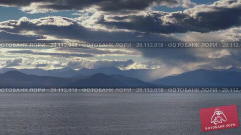 Купить «Тихоокеанское побережье. Time lapse», видеоролик № 29112018, снято 20 сентября 2018 г. (c) А. А. Пирагис / Фотобанк Лори