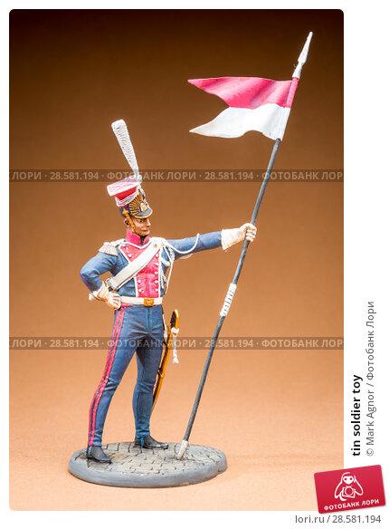 Купить «tin soldier toy», фото № 28581194, снято 13 июня 2018 г. (c) Mark Agnor / Фотобанк Лори