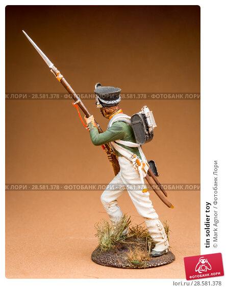 Купить «tin soldier toy», фото № 28581378, снято 13 июня 2018 г. (c) Mark Agnor / Фотобанк Лори