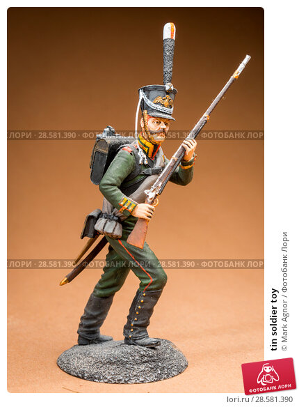Купить «tin soldier toy», фото № 28581390, снято 13 июня 2018 г. (c) Mark Agnor / Фотобанк Лори
