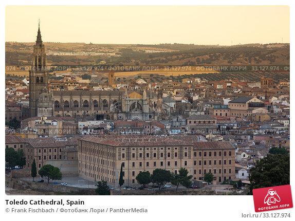 Купить «Toledo Cathedral, Spain», фото № 33127974, снято 29 марта 2020 г. (c) PantherMedia / Фотобанк Лори