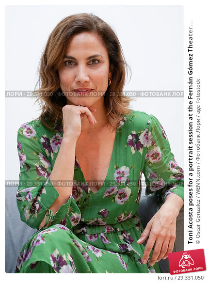 Toni Acosta poses for a portrait session at the Fernán Gómez Theater... (2018 год). Редакционное фото, фотограф Oscar Gonzalez / WENN.com / age Fotostock / Фотобанк Лори