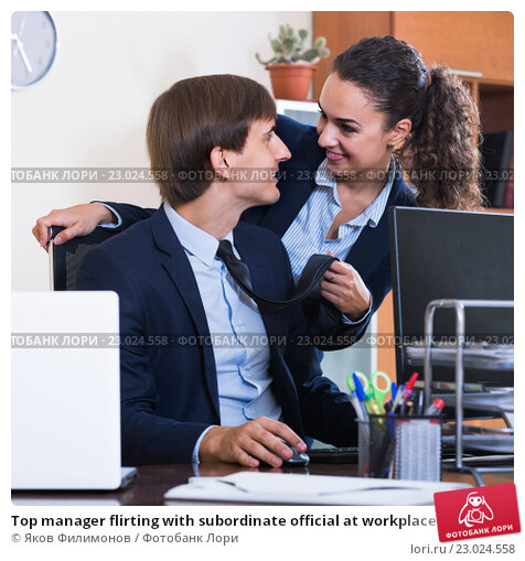 Unwanted flirting in the workplace