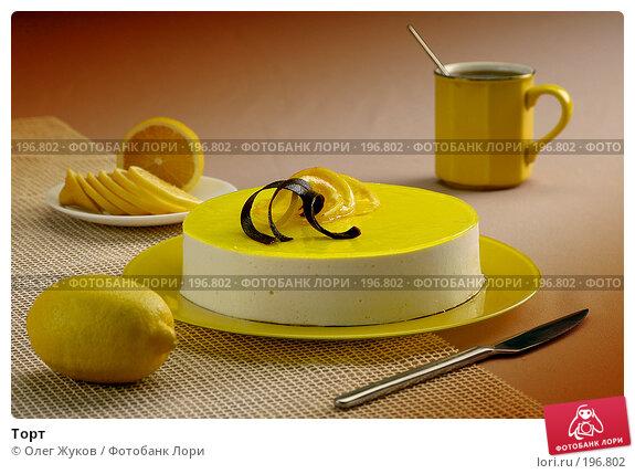 Торт, фото № 196802, снято 20 ноября 2003 г. (c) Олег Жуков / Фотобанк Лори