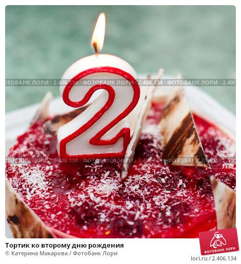 Купить «Тортик ко второму дню рождения», фото № 2406134, снято 9 марта 2011 г. (c) Катерина Макарова / Фотобанк Лори