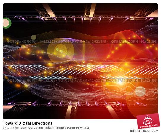Toward Digital Directions. Стоковое фото, фотограф Andrew Ostrovsky / PantherMedia / Фотобанк Лори