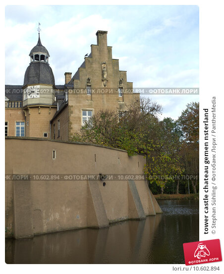 tower castle chateau gemen nsterland. Стоковое фото, фотограф Stephan Sühling / PantherMedia / Фотобанк Лори