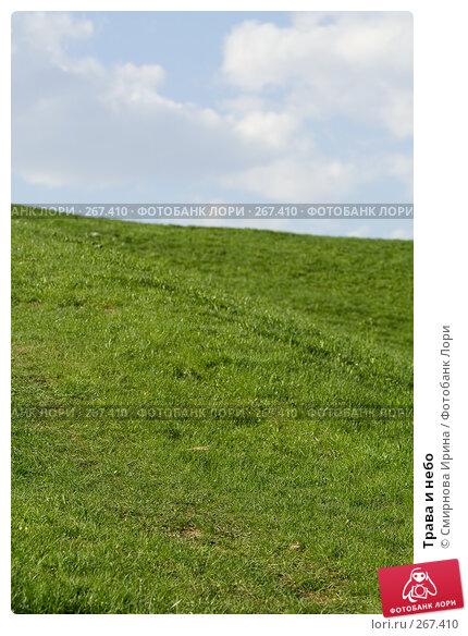 Трава и небо, фото № 267410, снято 27 апреля 2008 г. (c) Смирнова Ирина / Фотобанк Лори
