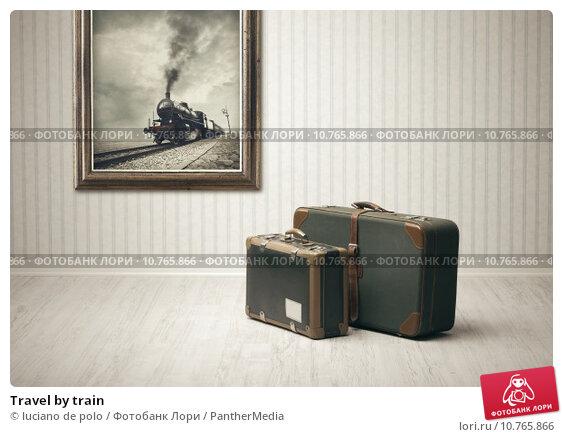 Купить «Travel by train», фото № 10765866, снято 18 июня 2018 г. (c) PantherMedia / Фотобанк Лори