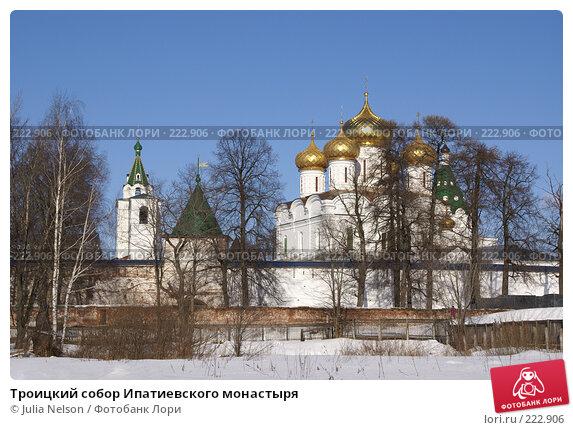 Купить «Троицкий собор Ипатиевского монастыря», фото № 222906, снято 24 февраля 2008 г. (c) Julia Nelson / Фотобанк Лори