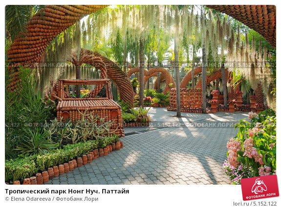 Купить «Тропический парк Нонг Нуч. Паттайя», фото № 5152122, снято 2 января 2013 г. (c) Elena Odareeva / Фотобанк Лори