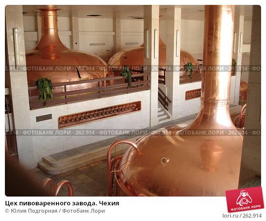 Цех пивоваренного завода. Чехия, фото № 262914, снято 18 марта 2008 г. (c) Юлия Селезнева / Фотобанк Лори