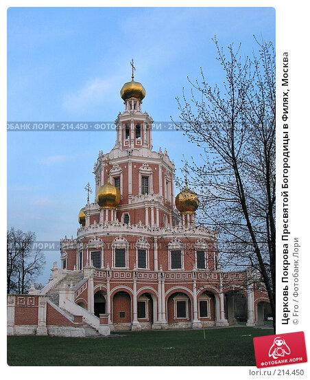 Церковь Покрова Пресвятой Богородицы в Филях, Москва, фото № 214450, снято 25 апреля 2004 г. (c) Fro / Фотобанк Лори