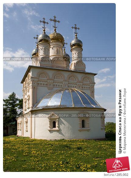 Церковь Спаса на Яру в Рязани, фото № 285002, снято 13 мая 2008 г. (c) Марина Милютина / Фотобанк Лори