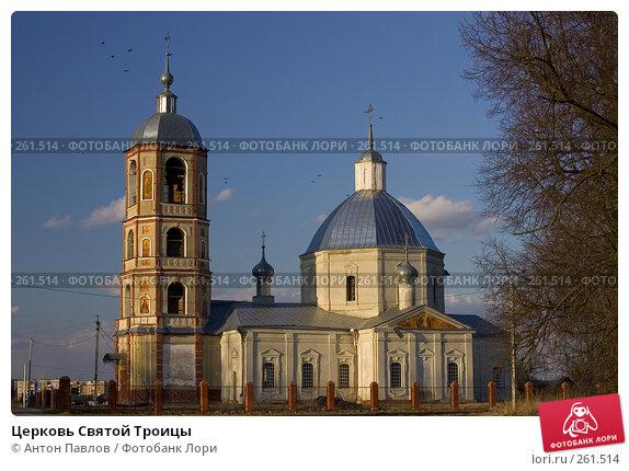 Церковь Святой Троицы, фото № 261514, снято 27 марта 2008 г. (c) Антон Павлов / Фотобанк Лори