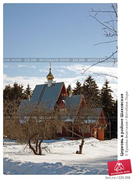 Церковь в районе Шаховская, фото № 229398, снято 9 марта 2008 г. (c) Бушева Анастасия / Фотобанк Лори