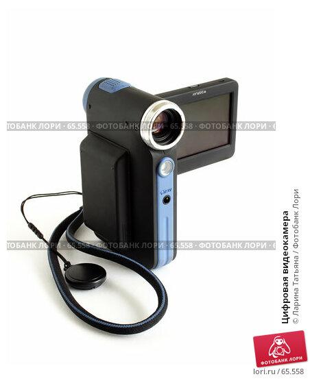 Купить «Цифровая видеокамера», фото № 65558, снято 25 июля 2007 г. (c) Ларина Татьяна / Фотобанк Лори