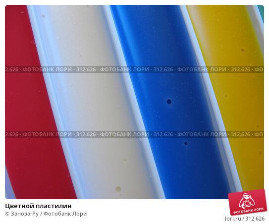 Цветной пластилин, фото № 312626, снято 3 июня 2008 г. (c) Заноза-Ру / Фотобанк Лори