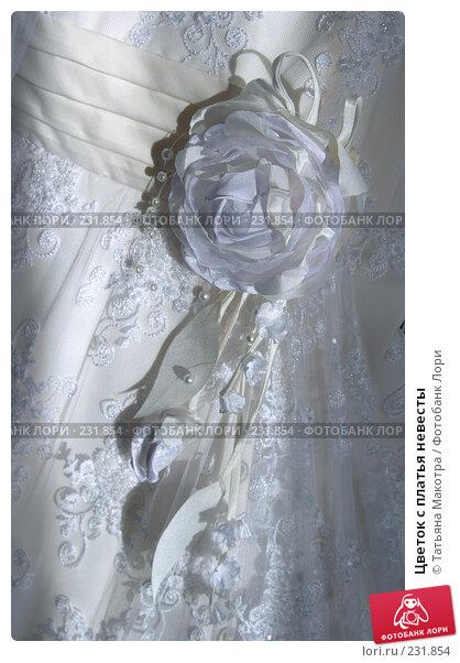 Цветок с платья невесты, фото № 231854, снято 6 марта 2008 г. (c) Татьяна Макотра / Фотобанк Лори