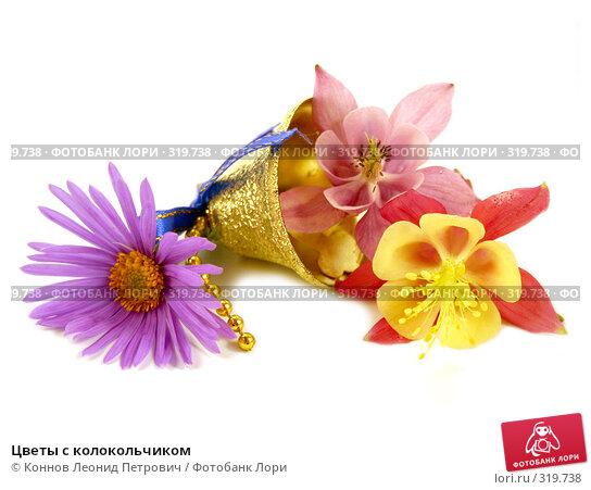 Цветы с колокольчиком, фото № 319738, снято 11 июня 2008 г. (c) Коннов Леонид Петрович / Фотобанк Лори
