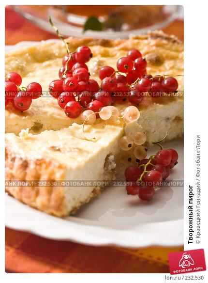 Творожный пирог, фото № 232530, снято 25 июля 2005 г. (c) Кравецкий Геннадий / Фотобанк Лори