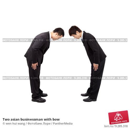 Купить «Two asian businessman with bow», фото № 9285318, снято 19 марта 2019 г. (c) PantherMedia / Фотобанк Лори