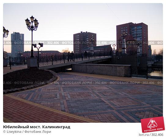 Юбилейный мост. Калининград, фото № 302406, снято 30 декабря 2007 г. (c) Liseykina / Фотобанк Лори