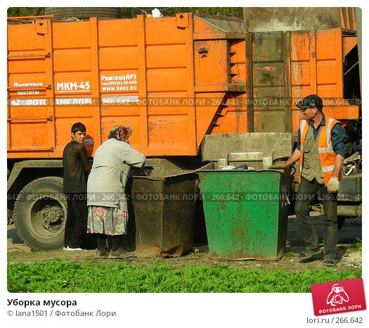 Уборка мусора, эксклюзивное фото № 266642, снято 28 апреля 2008 г. (c) lana1501 / Фотобанк Лори